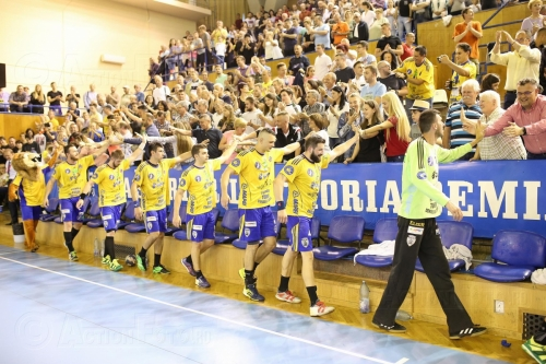 AHC Potaissa Turda vs AEK Athens 33-22 (14-11) in finala EHF Challenge CUP 2017-2018 la Cluj