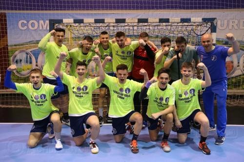 juniori 2: AHC Potaissa Turda - Dinamo Brașov 41-30 (22-14)